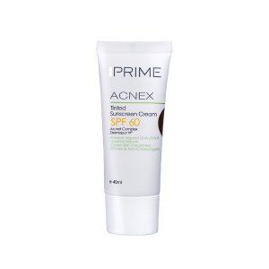 کرم ضد آفتاب رنگی فاقد چربی پریم SPF60 مناسب پوست های چرب و دارای جوش ۴۰ میلی لیتر