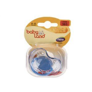 پستانک بیبی لند مدل 383 مناسب نوزادان از بدو تولد تا 6 ماهگی