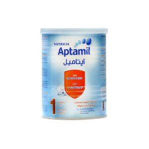 شیر خشک آپتامیل ۱ نوتریشیا مخصوص شیرخواران ۰ تا ۶ ماه ۴۰۰ گرم