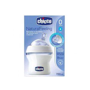 شیشه شیر چیکو chicco مدل Step Up ظرفیت ۱۵۰ میلی لیتر