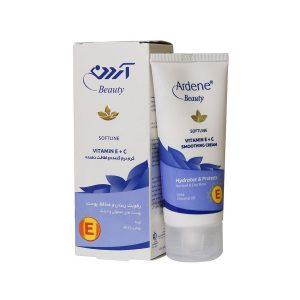 کرم نرم کننده ویتامین E و C آردن مناسب پوست خشک 50 میلی لیتر